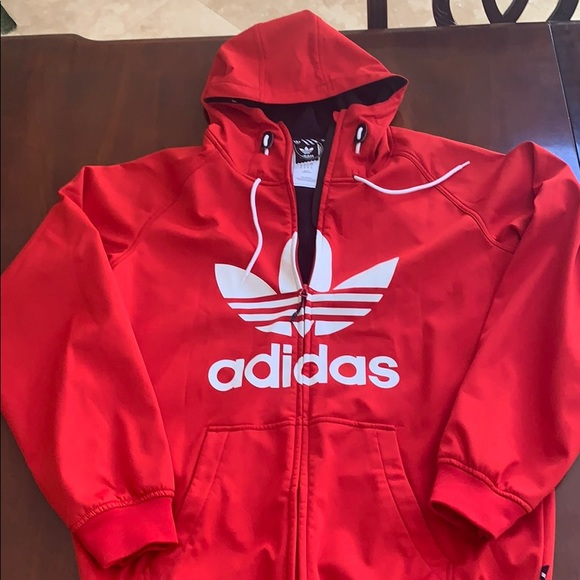 Adidas Greeley Red 5K Softshell Jacket